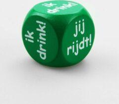 Groene Paper dreams Dobbelsteen Ik drink/Jij rijdt