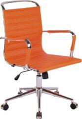 Clp Barton Bureaustoel - Oranje - Kunstleer