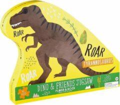 Floss & Rock Dinosaurus Puzzel - 40 stukjes - 60 x 41 cm
