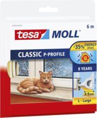 Tesa 05390-00100-00 05390-00100-00 Afdichtingstape tesamoll Wit (l x b) 6 m x 9 mm 1 rol/rollen