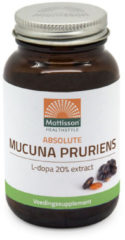 Mattisson Mucuna Pruriens Extract-l-dopa 20 Extract 120 Caps