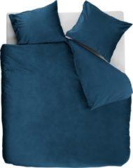 Blauwe At Home With Marieke At Home Tender Dekbedovertrek - Lits-jumeaux (260x200/220 Cm + 2 Slopen) - Katoen - Blue