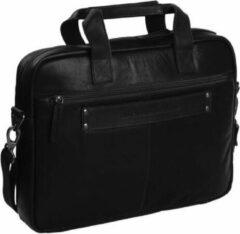 Zwarte Chesterfield Calvi laptoptas 14 inch black