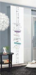 Sonstiges SCHMIDTGARD STOFFE Schiebevorhang Signs, 245x60 cm, multicolor, Digitaldruck