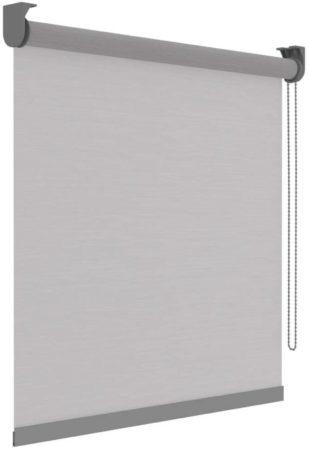 Afbeelding van Decosol Rolgordijn Deluxe Doorschijnend 120x190 Cm Witte Strepen