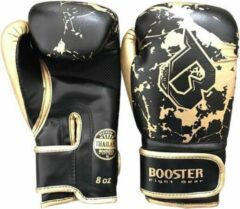 Booster fight gear Booster (kick)bokshandschoenen Junior Marble Zwart/Goud 8oz