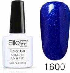 Elite99 Nagellak, Elite 99, Blauw Glitters, 1600, Gel Nagellak, Polish, Tenue de Ville