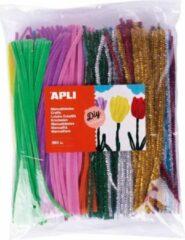 Apli Kids Chenille draad - Pijpenragers multicolor en metallic 360 stuks