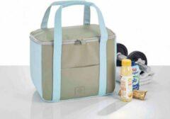 Beige BE CooL CITY M Island Paradise koeltas   Design   Premium   Strand   beach   Coolingbag  17.5 ltr