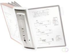 Grijze Durable Hunke & Jochheim | ESVSHOP.nl DURABLE Tafelstandaard voor SHERPA® lijstensysteemen, grijs, polyamide, DIN A4