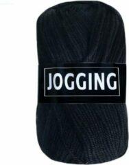 Beijer BV Jogging dunne sokkenwol acryl en wol - zwart - naald 2,5 a 3
