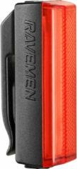 Zwarte Ravemen TR20 USB Rechargeable Rear Light - Achterlichten