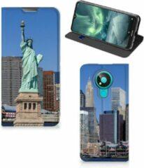 B2Ctelecom Beschermhoesje met foto Nokia 3.4 Smart Cover Vrijheidsbeeld