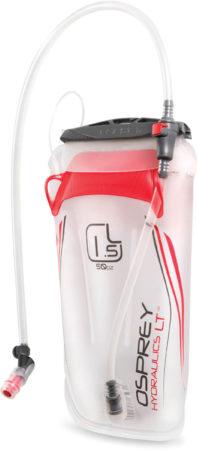 Afbeelding van Rode Osprey Hydraulics LT 1,5 L drinkzak (rood) - Reserveonderdelen drinksystemen
