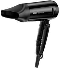 Zwarte BRAUN Haardroger Satin Hair 3 HD 350 Style&Go