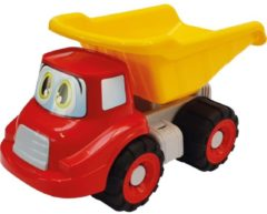 Transparante Basic Happy Truck Kiepwagen 26 cm