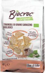 BAULE VOLANTE & FIOR DI LOTO FIOR DI LOTO Biocroc Triangoli Di Grano Saraceno 40g