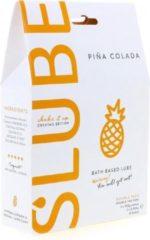 Slube – Massage en Glijmiddel Pina Colada – Groot verpakking