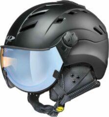 CP Helmets CP Camurai - Skihelm - dl vario polar ice vizier - Zwart - 62-63/XXL