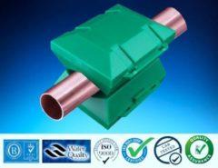 Groene Alpine waterontharder new generation Waterontharder - voor 22 mm kunststof, alupex leiding