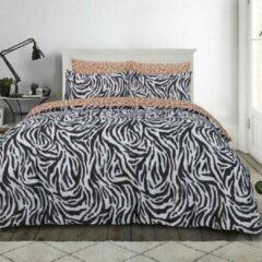 Sleepdown Zebraprint dekbedovertrek - 1 persoons - Zebra dekbed