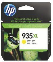 Cartridge HP 935XL hoge capaciteit geel voor inkjetprinter