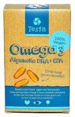 Testa Omega 3 Algenolie - Vegan Omega-3 Dha + Epa (45cap)
