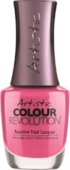 Roze Artistic Nail Design Colour Revolution 'Devil wears Nada'