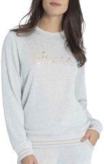Soft-Strick-Pullover Taubert soft grey mouliné