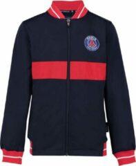 Blauwe Paris Saint Germain PSG kids vest 18/19 - official PSG product - paris vest - trainingsjack - 100% polyester - maat 104