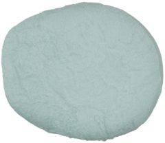Turquoise Form-Fix Voedingskussenhoes - Hoes voor Sit Fix XL - 100% katoen en comfortabel badstof - Saffier