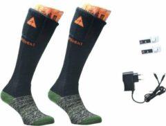 Groene ALPENHEAT Verwarmde Sokken FIRE-SOCKS WOL -L (42-45)