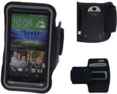 BestCases HTC Desire 210 Zwart Sport Armband Neopreen