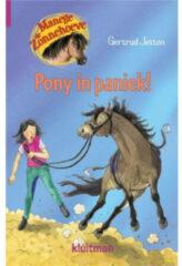 Blauwe Pony In Paniek - Manege De Zonnehoeve