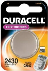 CR2430 Knoopcel Lithium 3 V 285 mAh Duracell CR 2430 1 stuk(s)