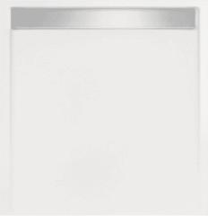 Witte Tegeldepot Douchebak vierkant zelfdragend Easy Tray 80x80x5cm gootcover Mat