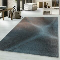 EFOR Impression Universe Design Laagpolig Vloerkleed Blauw / Koper- 160x230 CM