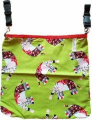 Groene Giggles 'n Grumbles Giggles 'n Grumbles HotchPotchPouch – Kinderwagentas Universeel - Olifant Ster