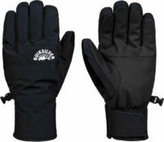 Zwarte Quiksilver Cross Gloves Heren Skihandschoenen - Black - Maat L
