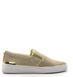 MICHAEL KORS Sneakers Trendy donna oro