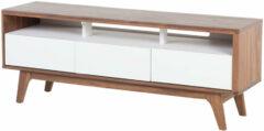 Bruine Beliani Syracuse Tv-meubel Mdf 39 X 140 Cm