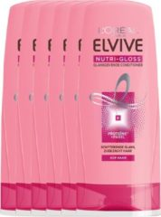 L'Oréal Paris L'Oréal Paris Elvive Nutri Gloss Conditioner - 6x200 ml - Voordeelverpakking