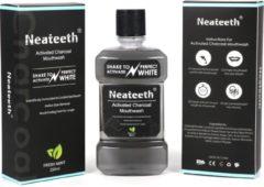 Neateeth - Mondwater - Whitening zwart 250ml - Mondspoelwater - Frisse adem