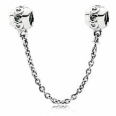 Pandora Veiligheidsketting zilver 'Hartjes' 791088-05