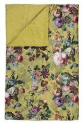 Gele Essenza Quilt Fleur Golden Yellow-180 x 265 cm