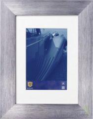Grijze Henzo LUZERN aluminium - Fotolijst - 20 x 30 cm - Fotoformaat 20 x 30 / 13 x 18 cm - Donker Grijs