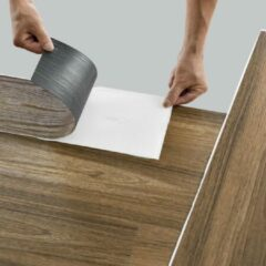 Neu.holz PVC laminaat zelfklevend set van 42 Antique oak 5,85 m²