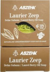 Abzehk Laurier Olie Zeep (Laurel Berry Oil Soap). 100% Handmade en Natural. Inhoud 150gr + 10gr EXTRA