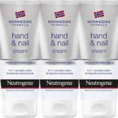 Neutrogena Hand & Nagelcreme 75ml (3 STUKS)