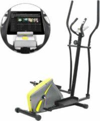 Merkloos / Sans marque Crosstrainer Magnetisch met Hartslagmeter en Tablethouder - Hometrainer - Airbike - Cross trainer